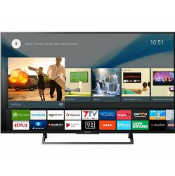 Sony LED TV, 4K rezolucija, KD49XE8005BAEP