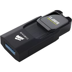 USB stick Corsair Voyager Slider X1 USB 3.0 256GB, Capless Design, Read 130MBs, Plug and Play