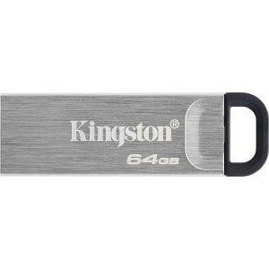 USB stick Kingston DT Kyson, USB 3.2 Gen 1, 64GB, Silver