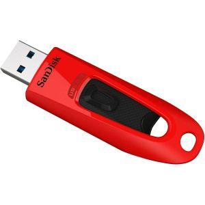 USB stick Sandisk Ultra USB 3.0 Red 32GB, SDCZ48-032G-U46R