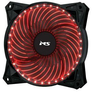 Ventilator MS Freeze L222, 120mm, crveno LED, crni