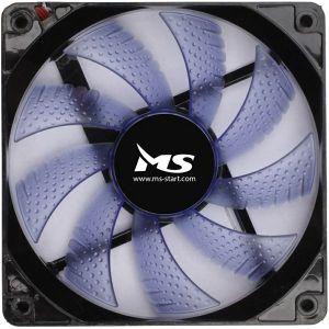 Ventilator za kućište MS FREEZE L122, plavi, 12 cm