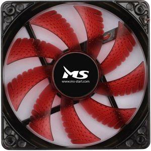 Ventilator za kućište MSI FREEZE L120, crveni, 12 cm