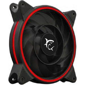 Ventilator za kućište White Shark 1250-03B-R WARP, crveni, 12 cm