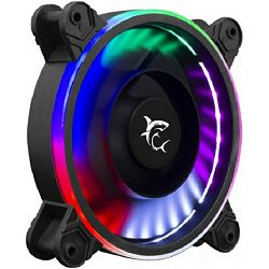 Ventilator za kućište White Shark 1262-03B-F WORMHOLE, RGB, 12 cm
