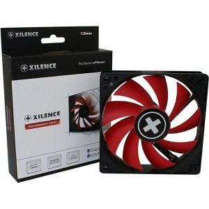 Ventilator za kućište Xilence 120×120×25mm, crno/crveni