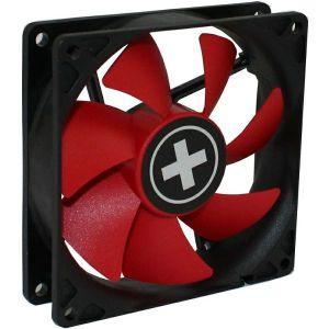 Ventilator za kućište Xilence 80×80×25mm, crno/crveni