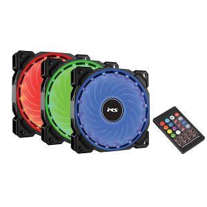 Ventilatori za kućište MS Freeze R500 RGB, 120mm, crni (3 komada)