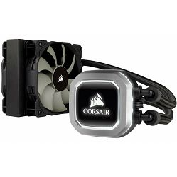 Vodeno hađenje Corsair Hydro Series H75 Liquid CPU Cooler, 120mm radiator (25mm) high for compatibility with more cases + dual PWM fans, Intel 115x, Intel 2011/2066, AMD AM3/AM2, AMD AM4