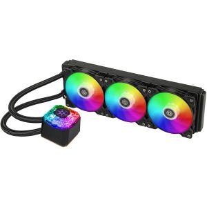 Vodeno hlađenje SilverStone IceGem 360 Premium, Triple Adjustable 120mm PWM, ARGB, Intel/AMD