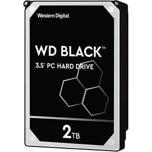 Hard disk WD Black (2TB, SATA 6Gb/s, 64MB Cache, 7200rpm)