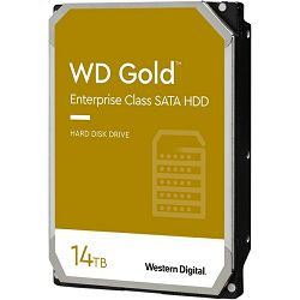 Hard disk WD Gold (14TB, SATA 6Gb/s, 512MB Cache, 7200rpm)