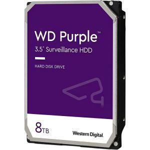 Hard disk WD Purple (8TB, SATA 6Gb/s, 128MB Cache, 5640rpm)