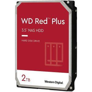 Hard disk WD Red Plus (2TB, SATA 6Gb/s, 128MB Cache, 5400rpm)