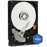 Hard disk WD Blue (3.5, 1TB, 64MB, 5400 RPM, SATA 6 Gb/s), WD10EZRZ