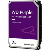 Hard disk AV WD Purple (3.5, 2TB, 64MB, 5400 RPM, SATA 6 Gb/s)