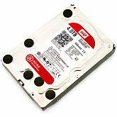 Hard disk WD Red (3.5, 4TB, 64MB, RPM IntelliPower, SATA 6 Gb/s), WD40EFRX