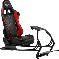 Gaming stolica White Shark Racing simulation cockpit RSC-303 KING OF SPEED