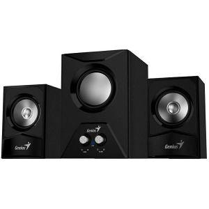 Zvučnici Genius SW-2.1 385, 15W, 3,5mm, crni