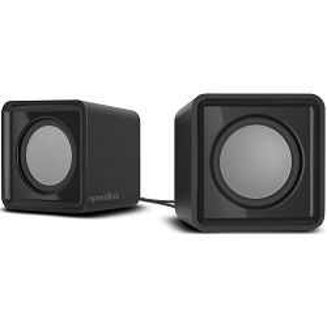 Zvučnici SPEEDLINK Twoxo, 2.0, crni - MAXI PONUDA