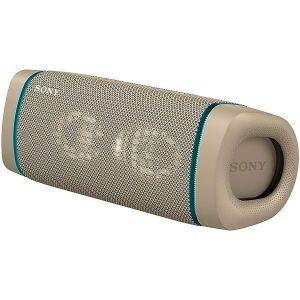 Zvučnik Sony SRS-XB33/C, bežični, bluetooth, bež