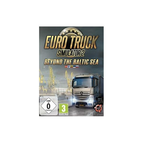 Euro truck simulator 2 Beyond the Baltic sea DLC STEAM KEY