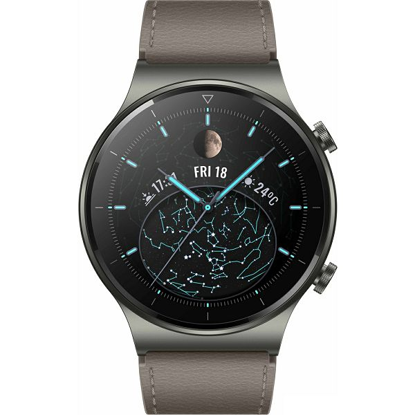 Pametni sat Huawei GT 2 Pro (46 mm), Sivi