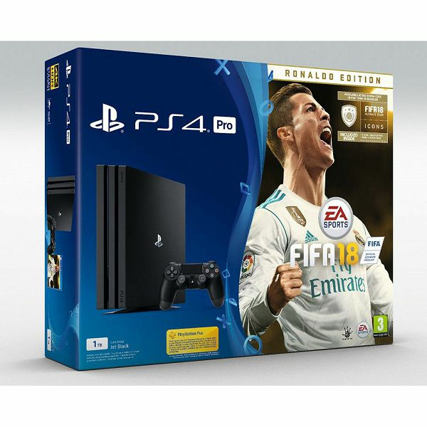 Playstation 4 Pro 1tb A Chassis   Fifa 18 Deluxe Edition