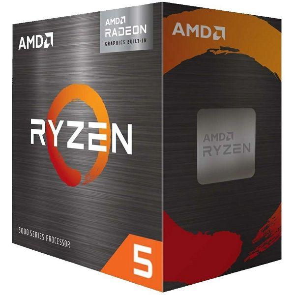 Procesor AMD Ryzen 5 5600G (6C/12T, 4.4GHz, 19MB, AM4), 100-100000252BOX