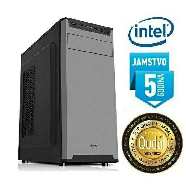 Računalo INSTAR Office MT 9100, Intel Core i3 9100 up to 4.20GHz, 8GB DDR4, 512GB NVMe SSD, Intel UHD Graphics 630, DVD-RW, 5 god jamstvo